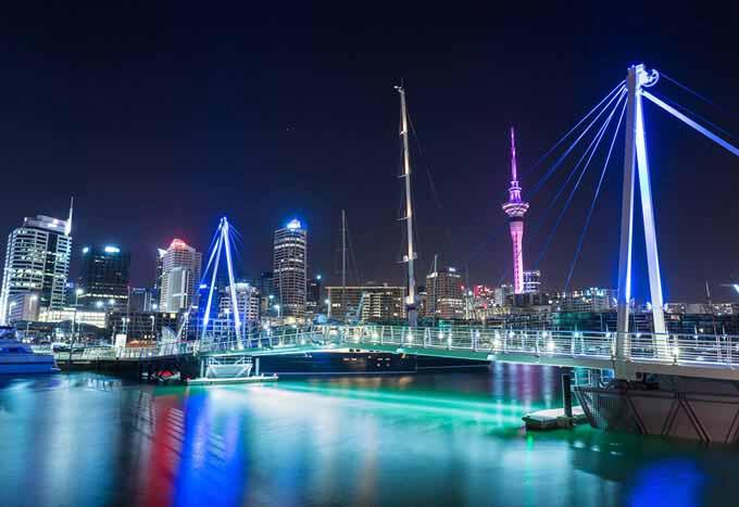 Hoteles en Auckland