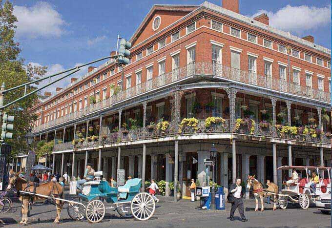 Hoteles en Nueva Orleans