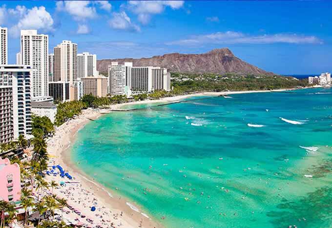 Hoteles en Honolulu
