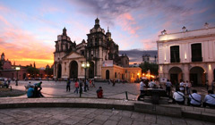 Attractions in Cordoba, Argentina