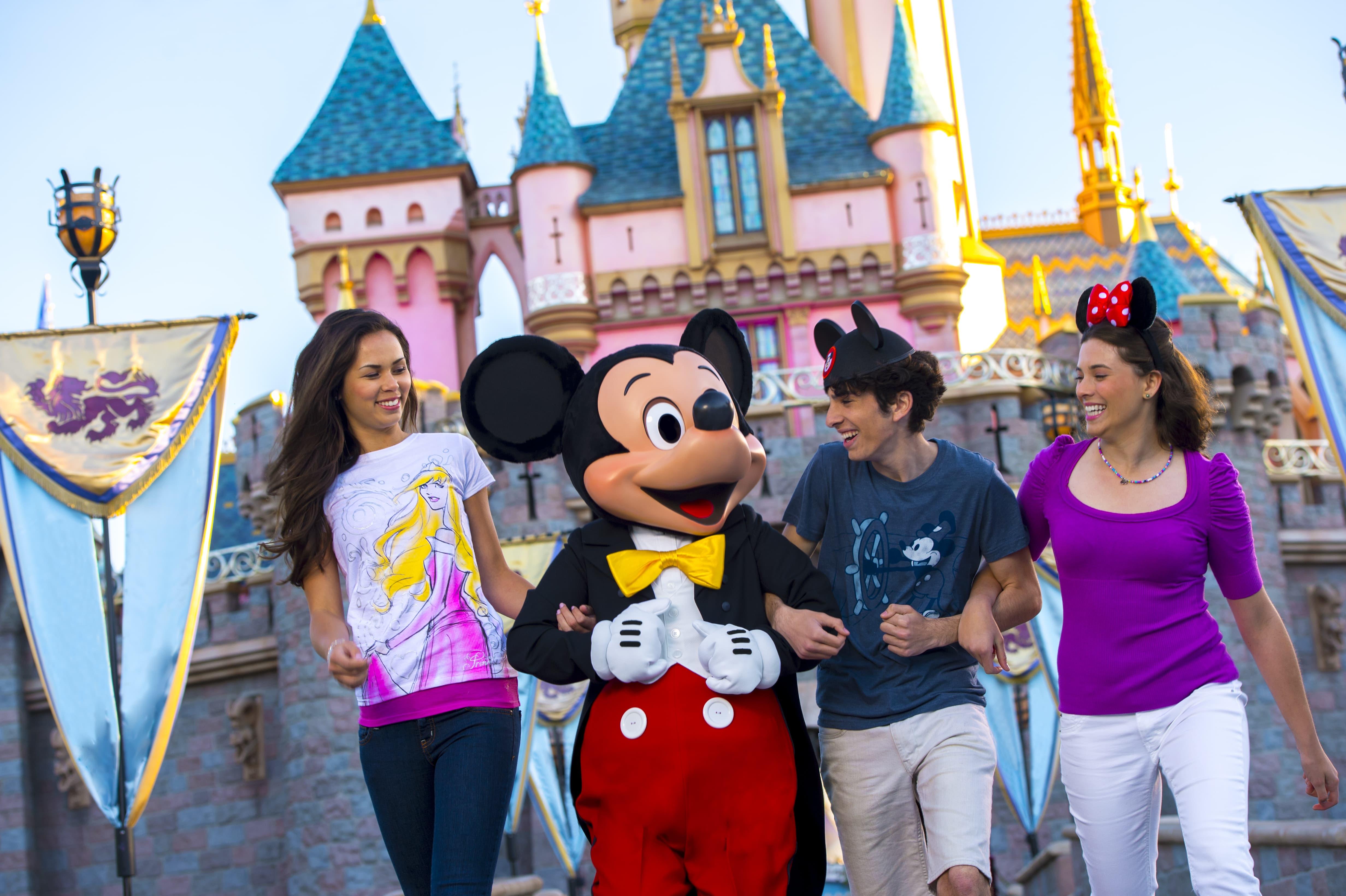 Parques temáticos en Disneyland