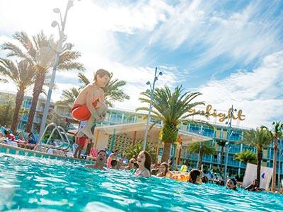 Universal's Cabana Bay Beach