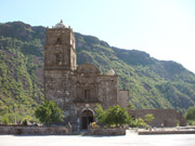 San Javier Mission in Loreto