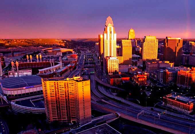 Hoteles en Cincinnati