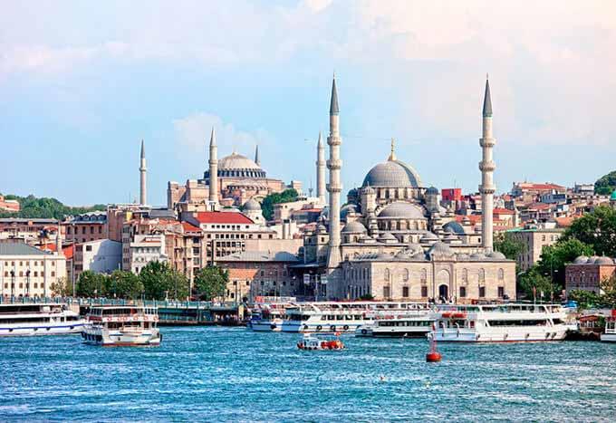 Paquetes en Estambul