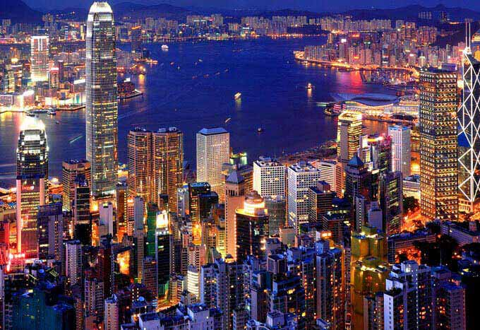Paquetes en Hong Kong