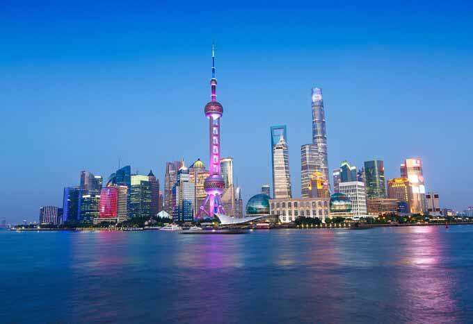 Paquetes en Shangai