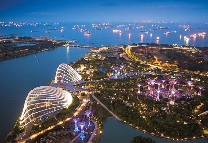 Paquetes en Singapur