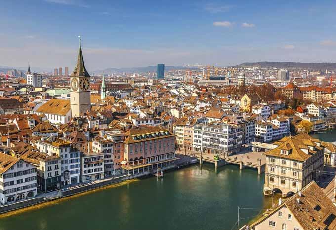 Hoteles en Zurich