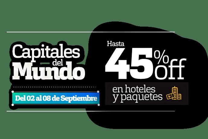 Ofertas Capitales del Mundo Hoteles