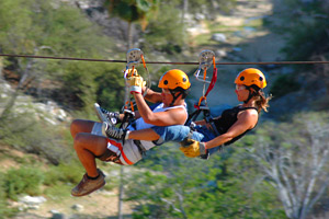 Zip Line Adventures in Los Cabos