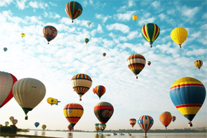 Hot Air Balloons in Los Cabos and La Paz, Mexico