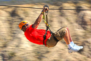 Zip Line tours in Los Cabos