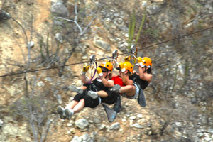 Flying High With Zip Lines In Los Cabos