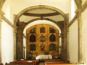 Interior Arches at Mision San Francisco Javier