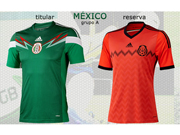 Mexico Jersey 2014