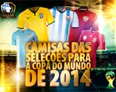 Official Uniforms for the 2014 World Cup in Brazil