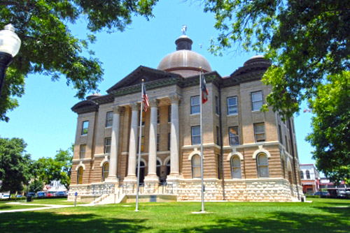 Hays County Courthouse in San Marcos, Texas