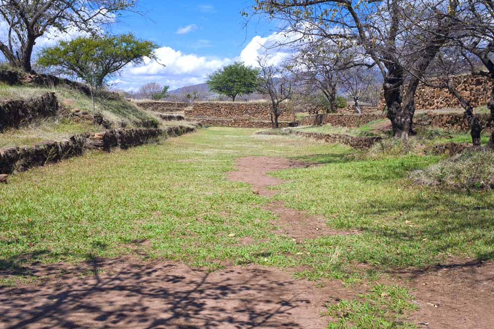Archeological sites in Jalisco
