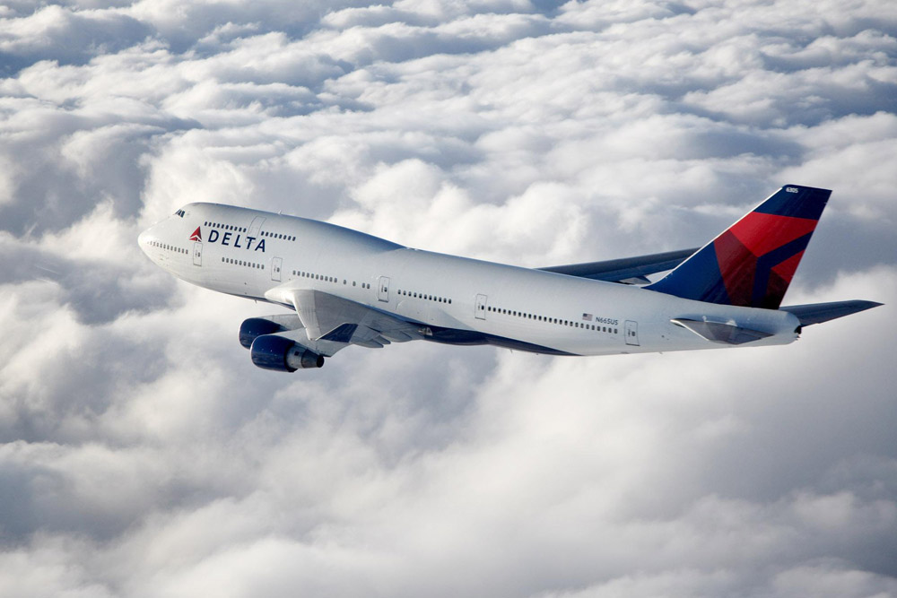 Delta Flight to Rio