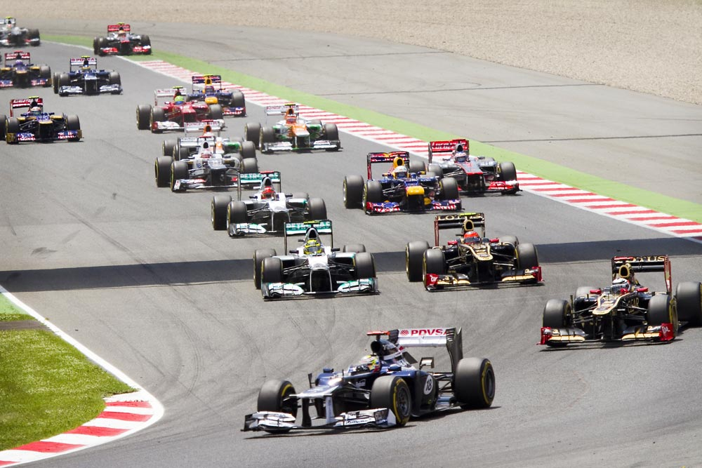 Formula 1 in the Americas