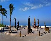 A Stroll along the Boardwalk in Puerto Vallarta