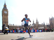 Running Past Big Ben