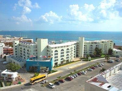 Aquamarina Beach Hotel In Cancun Mexico
