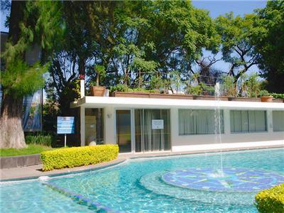 Arb rea hotel en guadalajara reserva de hoteles en for Hoteles con piscina en guadalajara