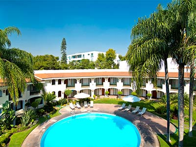 Hotel guadalajara plaza ejecutivo l pez mateos en for Hoteles con piscina en guadalajara