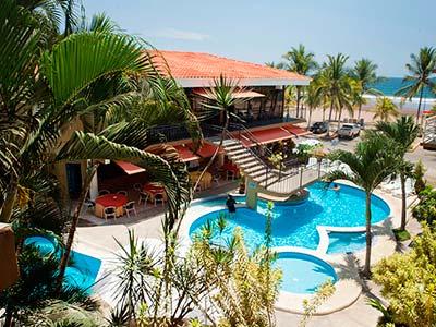 Balcon del Mar Beach Front Hotel in Jaco Costa Rica, Jaco Hotel Booking