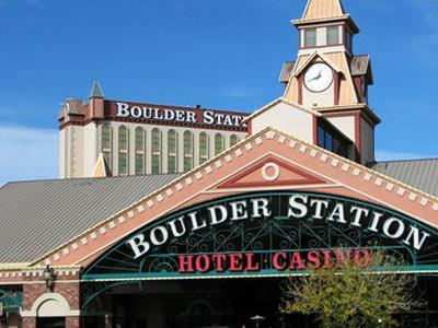 Boulder Station Hotel And Casino In Las Vegas Area United States