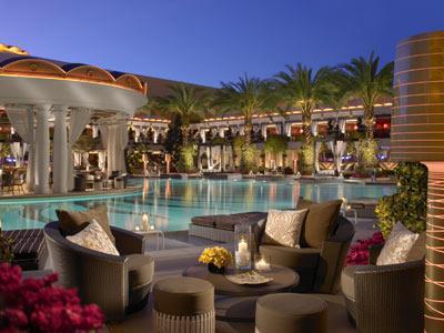 Map Location of Encore At Wynn Las Vegas Hotel Las Vegas Area