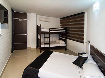Hotel mi colombia medell n for Habitacion familiar medellin