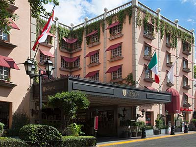 Hotel Geneve In Mexico City
