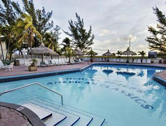 Howard Johnson Plaza Dezerland Beach And Spa Hotel In Miami Area United States Booking