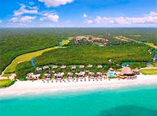 Map Location Of Fairmont Mayakoba Hotel Playa Del Carmen Riviera