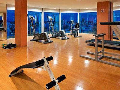 Holiday inn rosario hotel for Rosario fitness gimnasio