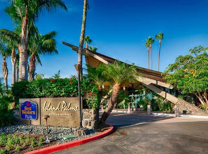 Best Western Island Palms Check Out