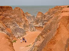 Morro Branco and Fontes Beach Tour
