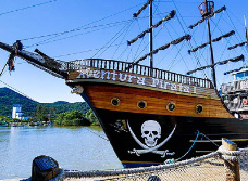 Pirate Ship Cruise to Laranjeiras Beach