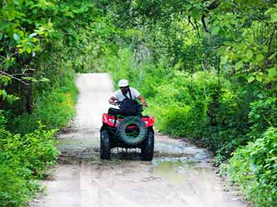 ATV Waterfall Expedition Tour