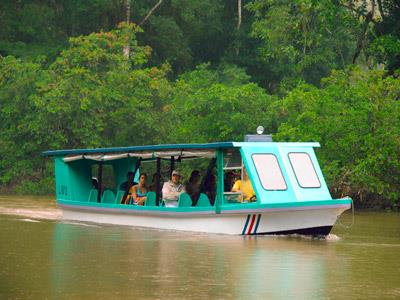 Horseback Riding and Rainforest by Boat Tour
