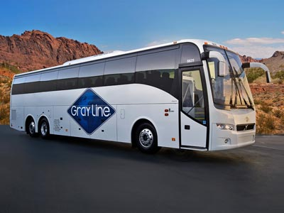 Gray line las vegas motorcoach tours to the grand canyon for Hoover dam motor coach tour