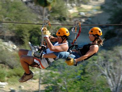 Flying Tortuga Zipline Tour