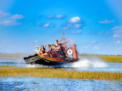 Everglades Airboat Adventure Tour and Safari Park