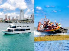 Everglades Airboat Adventure Tour and Biscayne Bay Cruise