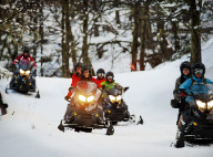Arelauquen Snowmobiles Tour and Dinner