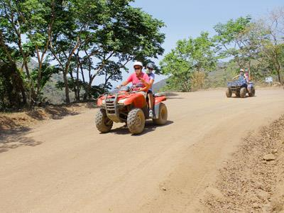 Tour en ATV Canopy River