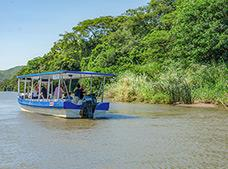 Bebedero River Boat Safari Tour